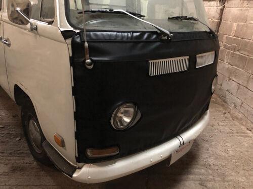 Di Alta Qualità Vinile Nero Reggiseno per VW T2 precoce bovindo CAMPER PANNELLO ANTERIORE C9746