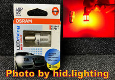 Genuine OSRAM 1156 12V P21W Red LED Driving Brake Light lamp bulb tail stop