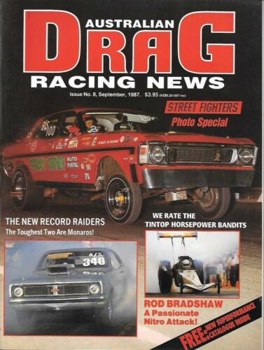Australian Drag Racing news September 1987