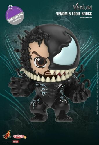 IN STOCK Marvel Hot Toys Venom /& Eddie Brock Cosbaby