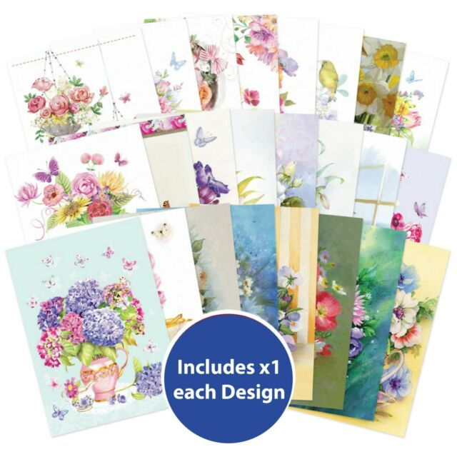 24 X Sheets From Hunkydory Little books Card Making Clearout