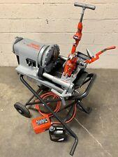 Ridgid 300 Compact Pipe Threading Machine With 250 Stand Threader 535 1224 1215 1