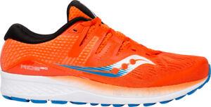 Qualifié Saucony Ride Iso Homme Chaussures De Course-orange-afficher Le Titre D'origine