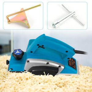 Elektrohobel Hobel Elektrisch Handhobel Balkenhobel Stufenhobel 11000 U/min 800W