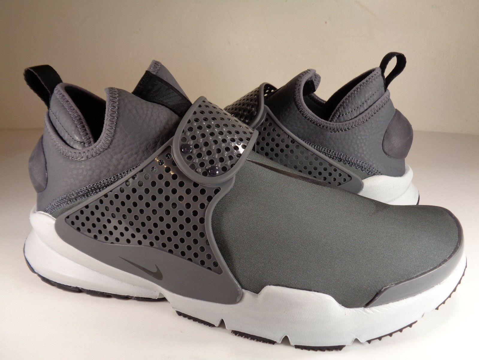 Nike Sock Dart Mid SE Dark Grey Light Grey Black Anthracite SZ 9 (924454-003)