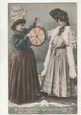 Your Fortune Vintage JWS Postcard 741a