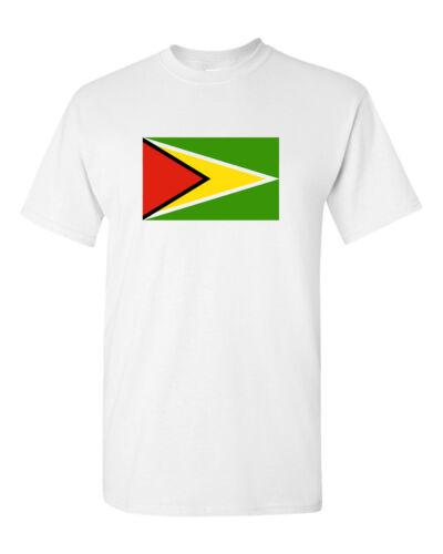 Guyanese Golden Arrow tee Guyana Flag T Shirt