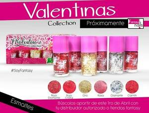 Image Is Loading Fantasy Nails Sinaloa Valentinas Nail Polish Collection