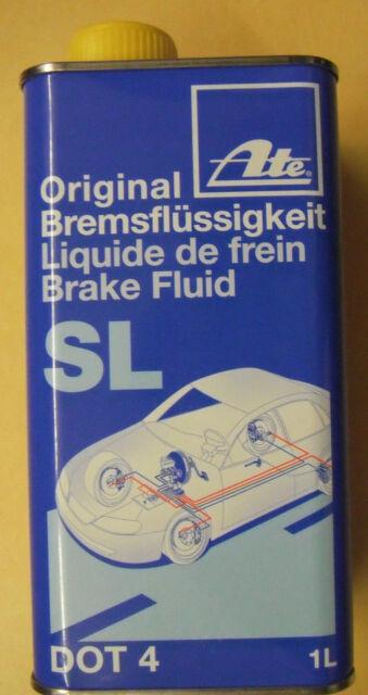 ATE Sl 03990158022 Liquido Freni 1L DOT4 Mitsubishi Kia Suzuki Renault Lada