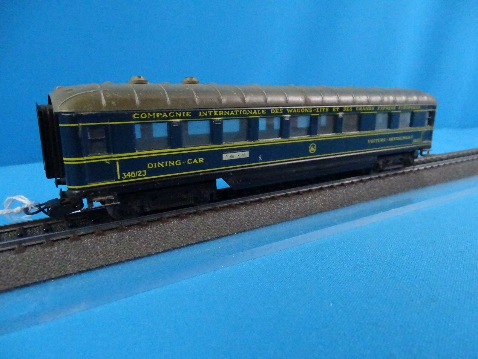 Marklin 346  2J CIWL Speisewagen blå Sch 65533;,