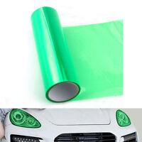 "12""X39"" Green Headlight Taillight Fog Light Tint Vinyl Film Sheet Wrap Sticker"