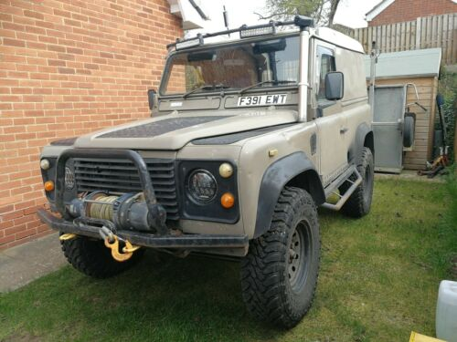 1989-Landrover-90-now-300Tdi-engine
