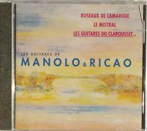 CD LES GUITARES DE MANOLO & RICAO