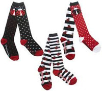 Little Missmatched Lady Bug Knee High Socks Brand