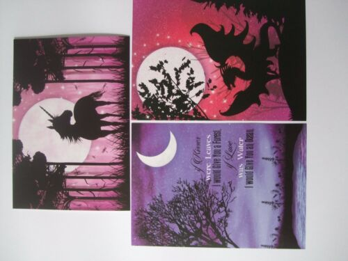"Hunkydory 24 mixed Little Book of Card Toppers /""Twilight Kingdom/"" see pictures"
