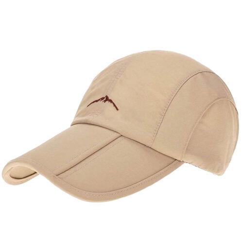 Hat Baseball Cap Sport Cabbie Hüte Mützen Faltbar Unisex Herren Damen Neu