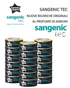 Tommee-Tippee-SangenicTEC-Ricarica-ORIGINALE-PROFUMO-AGRUMI-sacchetti-pannolini