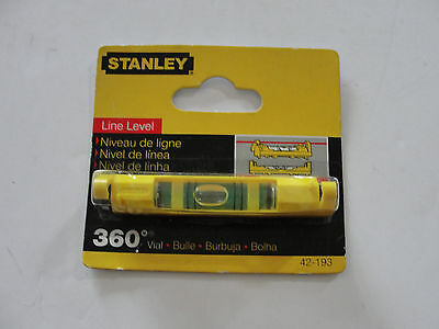 Stanley 42-193 3 Inch Line Level Plastic