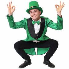 Mens Lucky Irish Green Leprechaun St Patricks Day Costume Sheamus Craic Party