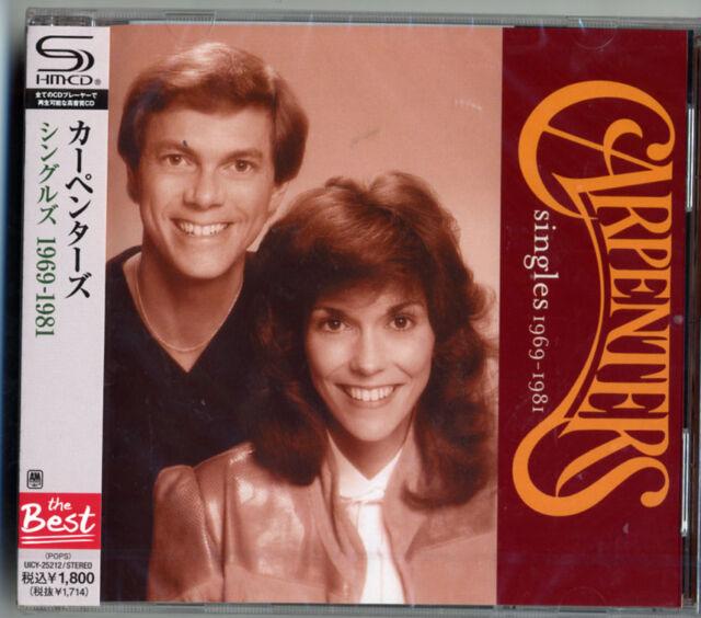 CARPENTERS-SINGLES 1969-1981-JAPAN SHM-CD D50