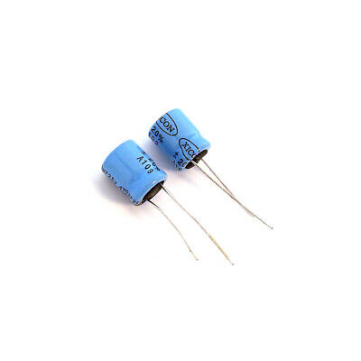 Lot Of 2 XICON 25V  Electric Radial Capacitor 470 UF