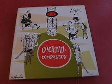 """Various Artists Estrus Coctail Companion 3 x 7"""" BOX GARAGE FUZZ cowslingers"""