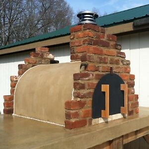 Details About Outdoor Pizza Oven Wood Fired Oven Your Outdoor Brick Pizza Oven Awaits