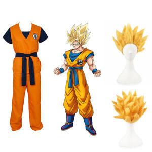 Dragon-Ball-Z-Goku-Turtle-senRu-Adult-Costume-Cosplay-Optional-Super-Saiyan-Wig