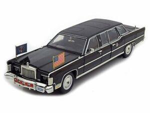 LINCOLN Continental - Reagan Car - 1972 - black - Lucky Die Cast 1:24