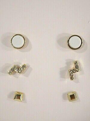 Anthropologie Womens Gold Star Drop earrings NWT 65