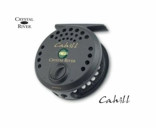 8,9,10 W FLY FISHING REEL CRYSTAL RIVER-CAHILL LINE SIZE LINE #