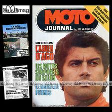 MOTO JOURNAL N°331 SACHS MC 250 CROSS YAMAHA XS 750 BMW R100 RS FORMULE 750 1977