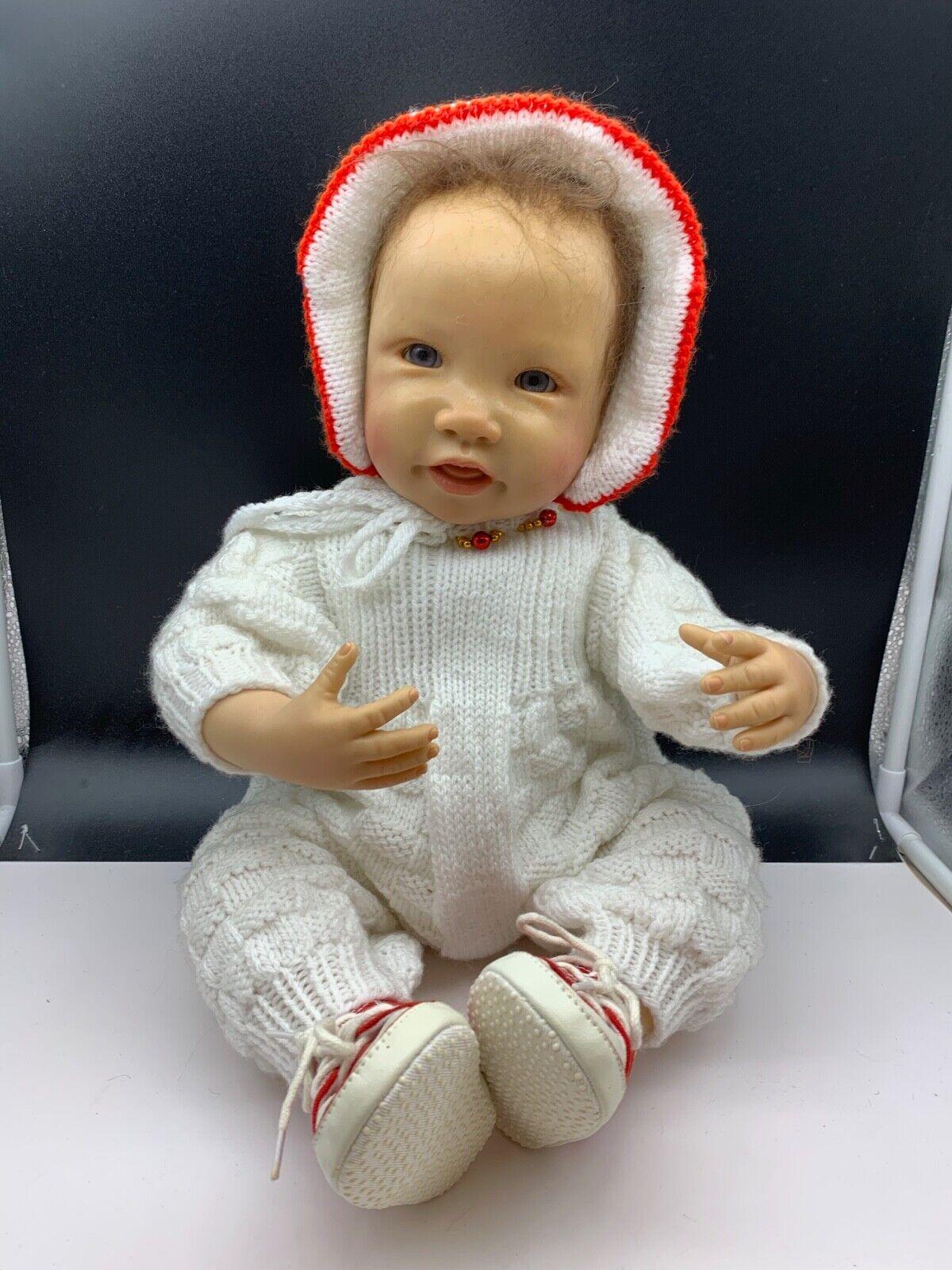Waltraud hanl ARTISTICO Doll Bambola in vinile 55 cm. POT condizione