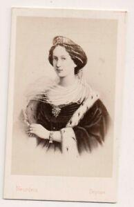 Vintage-CDV-Princess-Marie-of-Hesse-Empress-of-Russia