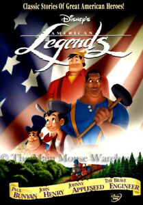 Paul-Bunyan-John-Henry-Johnny-Appleseed-The-Brave-Engineer-KC-Casey-Jones-on-DVD