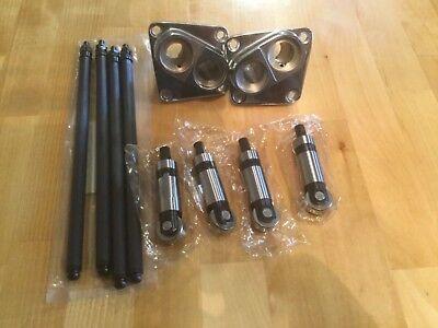 Harley Davidson shovelhead  chrome tappet blocks