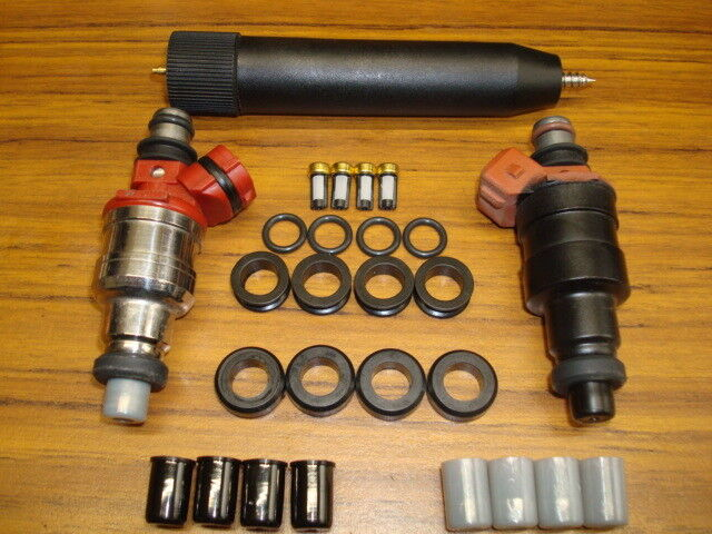 Toyota 22re Fuel Injector Service Kit With Filter Removal & Install Tool