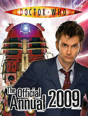"""""""AS NEW"""" BBC, Doctor Who: The Official Doctor Who Annual 2009, Hardcover Book"""