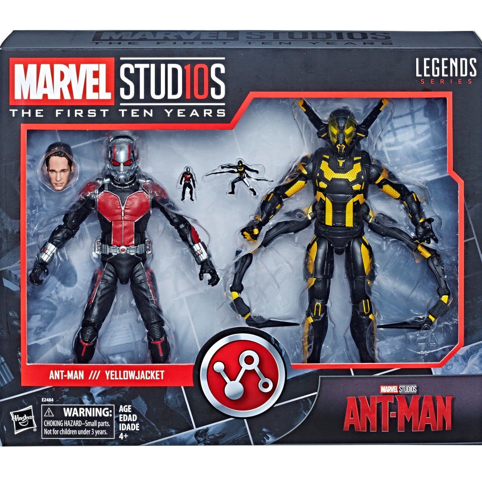 Hasbro Marvel Legends 10th aniversario Ant-Man & Amarillo Jacket 2PK au