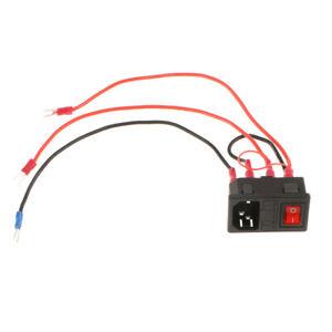 3D-Printer-Part-220V-110V-15A-Power-Outlet-Socket-Switch-Fuse-For-3D-Printer