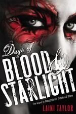 Days of Blood and Starlight by Laini Taylor (2012, Hardcover)