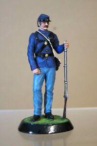 Amande Sculptures Stadden Union Soldat Guerre De Sécession Studio Peint Ow
