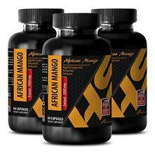 Antioxidant formula - PURE AFRICAN MANGO EXTRACT 1000mg 3 Bottles 180 Capsules