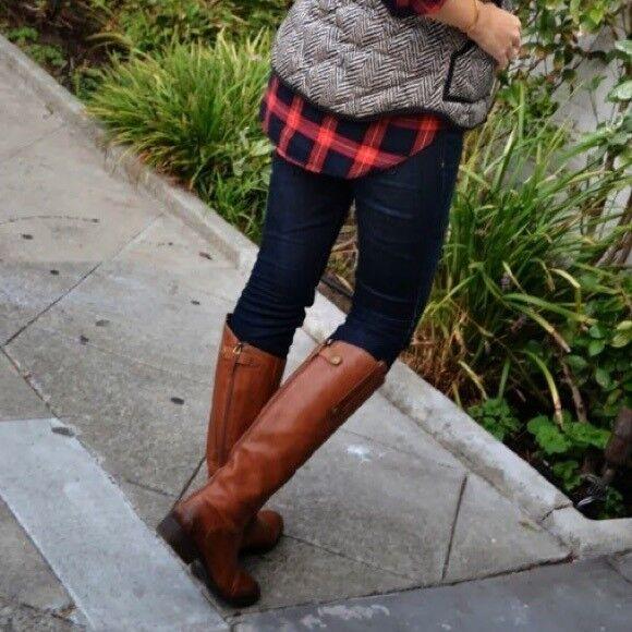 Sam Edelman Penny Riding botas botas botas Talla 6.5 Whisky  marcas de moda