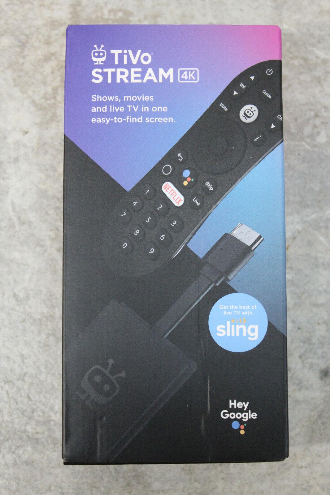 TiVo Stream 4K Android TV Media Player IPA1104HDW-01 android media player stream tivo