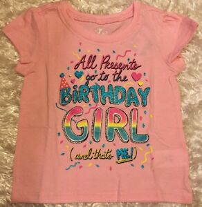 Image Is Loading NWT PINK 034 Birthday Girl Sparkle Party