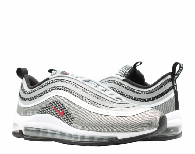Nike Air Max 97 Ultra '17 Metallic Silver Bullet Men's Running Shoes 918356 003