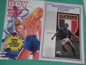 D-BOY-Rivista-Fumetto-N-46-Anno-1977-Speciale-Nazionale-Calcio-I-Chocolat-039-s