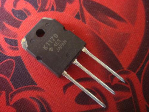 10PC K1170 2SK1170 Silicon N Channel MOS FET IC Nouveau