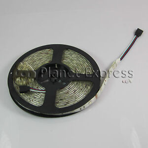 Tira-Flexible-150-Led-SMD-5050-5m-RGB-Mando-Controlador-Waterproof-casa